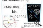 Einladung » Sommerparty » 2005